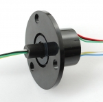 Slip Ring with Flange - 22mm diameter, 6 wires, max 240V @ 2A (Adafruit)
