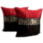 หมอนอิง เป็นรูปช้างเดินเรียงกัน 3 สวยๆ งามๆ ขนาด 16 นิ้ว ขายที่ละเป็นคู่