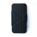 เคส S6 เคสฝาพับ สีดำ