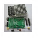 LED Dot Matrix Driver Module (MAX7219) 8x8 (DIY Kit) 32mmx32mm