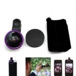 Selfie Cam Lens เลนส์เซลฟี่ สีม่วงอ่อน