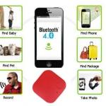 เครื่องติดตามของหาย iTag Anti-lost Bluetooth 4.0 สีแดง