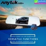 กล้องติดรถยนต์ Anytek A80+ กล้อง หน้า-หลัง ราคา 1,930 บาท ปกติ 4,825 บาท