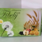 Donut Fibely ผลิตภัณฑ์อาหารเสริม รสน้ำผึ้งมะนาว ช่วยกระตุ้นการขับถ่าย. (10 ซอง / กล่อง)