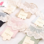 [หมด] ถุงเท้าญี่ปุ่นขอบระบายลูกไม้