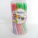 ดินสอต่อไส้ด้ามใสไส้สี (ขายส่งกระป๋อง 50 ด้าม)