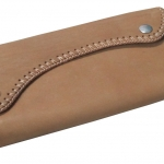กระเป๋าสตางค์ยาว หนังวัวแท้ สีน้ำตาล แบบด้าน เรียบง่าย ทันสมัย ด้วย Styles Cassic