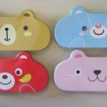 กล่องดินสอเหล็กลายหมี รหัส 0292