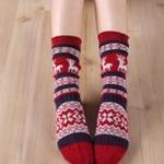 ถุงเท้าญี่ปุ่น reindeer motif