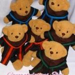 ตุ๊กตาหมีชุดครุย ของขวัญรับปริญญา ตุ๊กตาหมีรับปริญญา ม.สยาม ปริญญาตรี ไซด์ 14 นิ้ว
