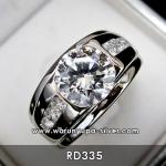 แหวนเพชรชาย 2 กะรัต RD335