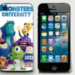 Monster U. iPhone4/4s case pvc