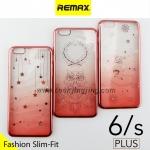 เคส ซิลิโคนใส iPhone 6 Plus Remax Wear it Diamond color ลดเหลือ 100 บาท ปกติ 250 บาท