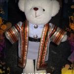 ตุ๊กตาหมีชุดครุย ของขวัญรับปริญญา ตุ๊กตาหมีรับปริญญา ม.นเรศวร ขนาด 14 นิ้ว