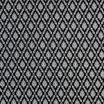 ผ้าลายไทย LT0013_bw ขาวดำ