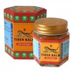 ยาหม่องตราเสือ (แดง) 30 กรัม ขี้ผึ้งสูตรร้อนดั้งเดิม ช่วยบรรเทาอาการปวดกล้ามเนื้อ และยังช่วยบรรเทา อาการคันเนื่องจากแมลงกัดต่อย เคล็ดขัดยอกฟกช้ำ