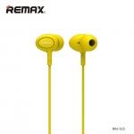 หูฟัง remax สมอลทอร์ค 515 สีเหลือง
