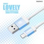 สายชาร์จ Micro USB Remax Lovely RC-010m แท้ 100% ราคา 78 บาท ปกติ 250 บาท