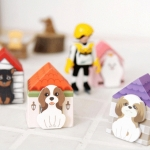 กระดาษโน๊ต-Cute Dog Notes Stickers