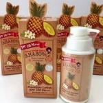 Over White สับปะรด AHA80% Pineapple Lotion SPF100 PA+++ โลชั่นสับปะรด