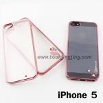 เคส ซิลิโคนใส iPhone 5/5S CADENZ ลดเหลือ 60 บาท ปกติ 300 บาท
