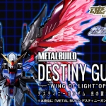 "METAL BUILD Destiny Gundam ""Wing of Light"" Option Set"
