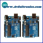 Arduino UNO R3 - Dual Pack (Lot of 2 pcs)+Free USB Cable