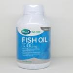 Mega We Care Fish Oil 1000 mg 100 เม็ด ช่วยบำรุงหัวใจ ป้องกันโรคหัวใจขาดเลือด และสมองขาดเลือดชั่วคราว
