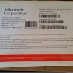 Microsoft window sever 2012 standard R2 (OEM key) 1 User