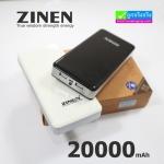 แบตสำรอง Power Bank ZINEN 20000 mAh เต็มความจุ