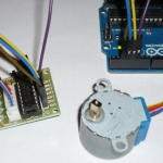 12V DC Stepper Motor + Driver Board