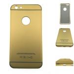 เคสไอโฟน 6 พลัส 6S พลัส ฝาหลังอลูมิเนียมเลื่อนสไลด์ได้ สีทอง