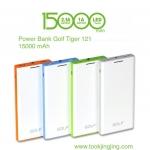 แบตสำรอง Power Bank GOLF 15000 mAh Tiger 121 ลดเหลือ 560 บาท ปกติ 1500 บาท