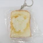 พวงกุญแจสกุชชี่ขนมปังปิ้ง แพ็คโหล