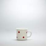 Enamel Vintage Mug 8cm.
