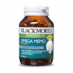 BLACKMORES OMEGA MEMO 60 แคปซูล น้ำมันปลาโอเมก้า3เข้มข้น Hi-DHA