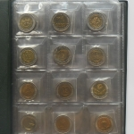 เหรียญ 10 บาท โลหะสองสี ในรัชกาลที่9 มี 61 แบบ