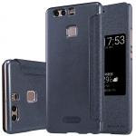 เคส Huawei P9 ฝาพับ nillkin Sparkle Leather Case สีดำ