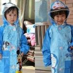 เสื้อกันฝน สำหรับเด็กเล็ก ลายการ์ตูน