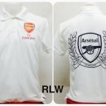 เสื้อโปโล อาร์เซนอล สีขาว RLW