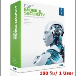 ESET Mobile Security 180 วัน/ 1User (เฉพาะ Key-code)