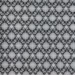 ผ้าลายไทย LT0023_bw ขาวดำ