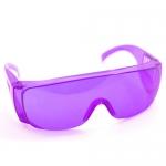 แว่นตากันน้ำ สีม่วง ส่ง45 ขาย99