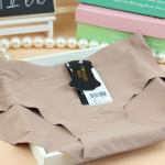 สินค้าใหม่ Hi-end กางเกงในไร้รอยขอบเส้นใยน้ำแข็ง