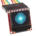 SparkFun Micro OLED Breakout - Blue-on-Black (นำเข้า USA)