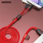 สายชาร์จ remax RC-025 2 in 1 Red