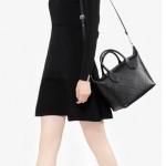"CHARLES&KEITH CASUAL SHOPPER กระเป๋าสะพายรุ่นยอดนิยมดีไซน์สวยน่าใช้สไตล์ ""Longchamp"""