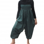กางเกงทรงแม้ว มีลายในตัว ขอบยืดเอวใหญ่ ส่วมใส่สบาย ขนาด FREE SIZE
