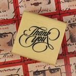 [S514] ตัวปั้ม Thank You 4*4cm
