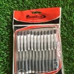 ปากกา quantum GeloPlus+ curve125 สีดำ (ขายส่ง 100 บาท/โหล)
